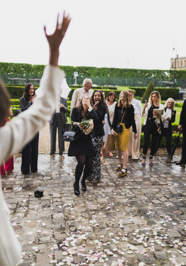 photos mariage à la mairie de saint germain en laye